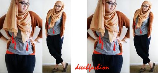 Tips Baju Muslim Untuk Tubuh Gemuk Chubby