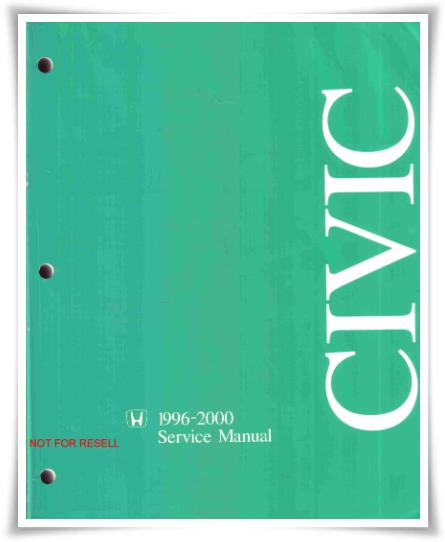 Honda Civic 1996-2000 Service Manual
