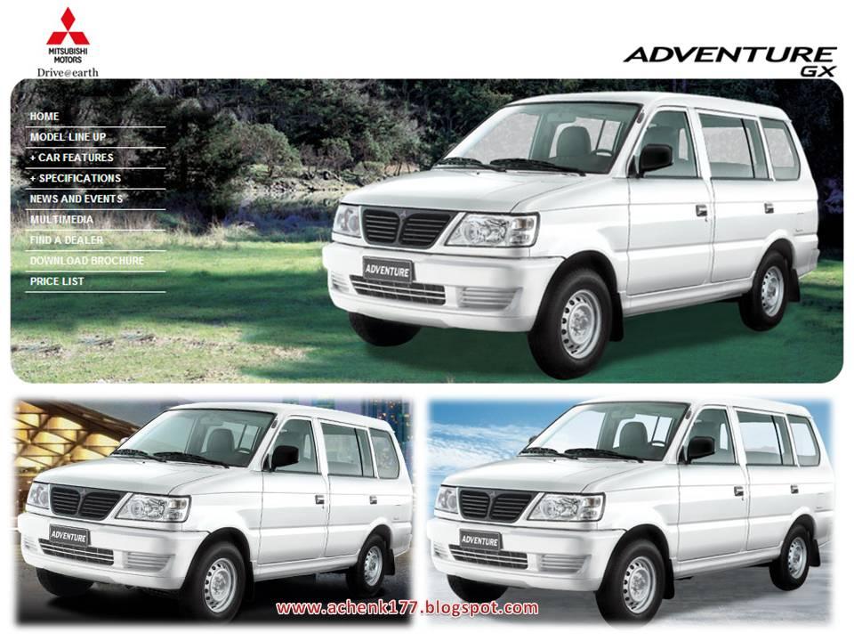 Ini Ada Brosur Kuda Di Negaranya Marcos Namanya Adventuresemua Mesin Pake Diesel 4D56 2500cc Tersedia Dua