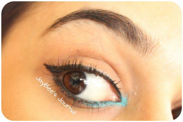 Makeup Revolution Amazing Liquid Liner Color Studio Iconic Kajal Maybelline Colossal Kajal in Turquoise