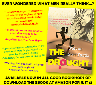 The Funniest Book Ever, The Drought, Steven Scaffardi, Lad Lit, Funny, Comedy, Chick Lit, Indie Author,