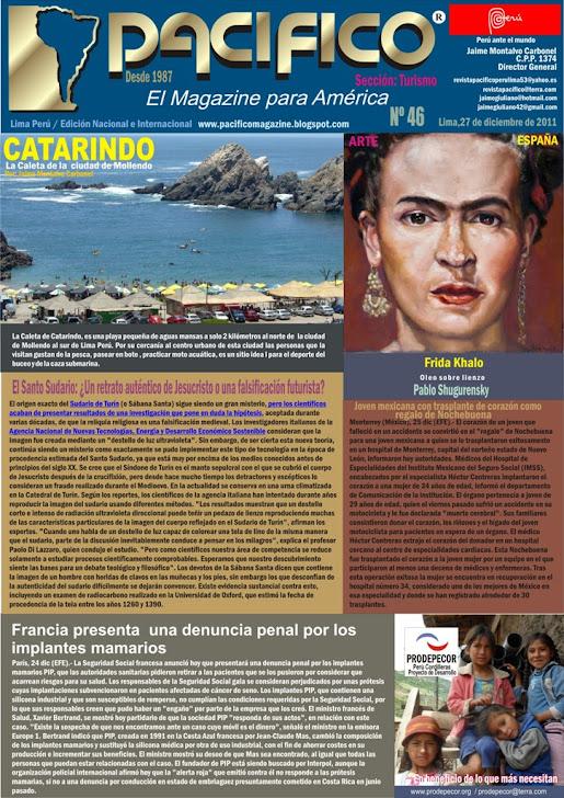 Revista Pacífico Nº 46 Turismo