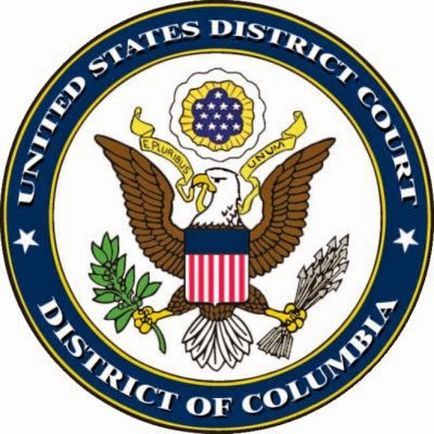 The seal of the United States District Court for the District of Columbia.