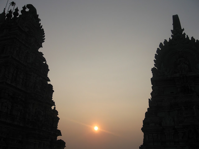 Suset at Yoganarasimha Swamy Temple, Melukote