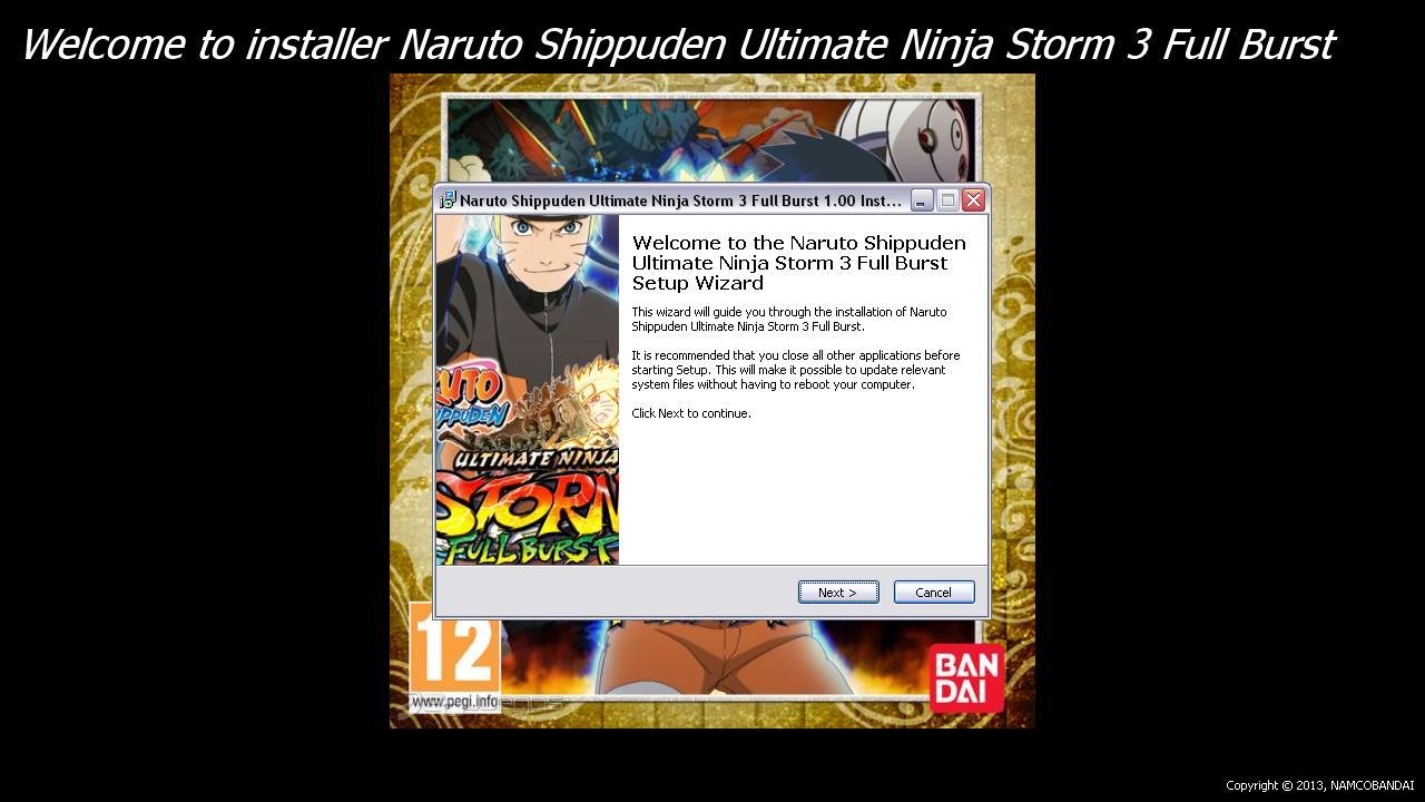 how to download naruto shippuden ultimate ninja storm 3