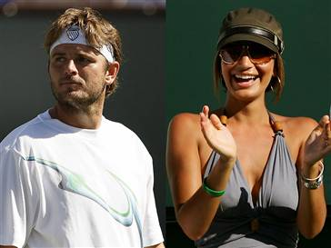 Mardy Fish Wife on Mardy Fish With Wife Stacey Gardner Images 2011   All About Sports
