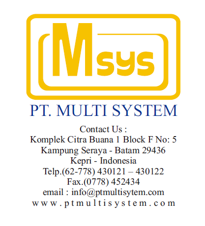 Main Business PT. Multi System