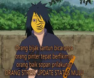 status lucu