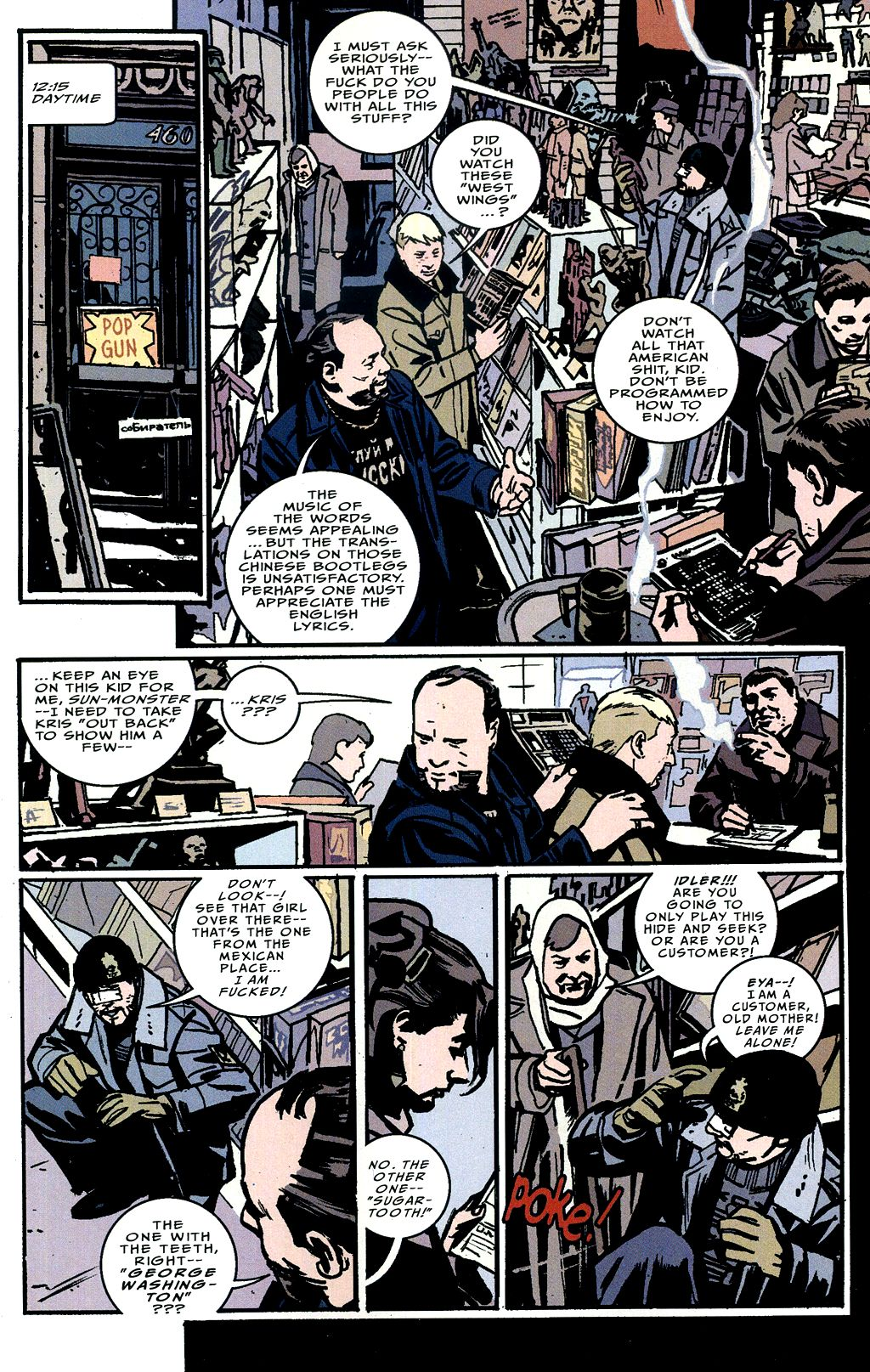 Read online The Winter Men comic -  Issue #4 - 8