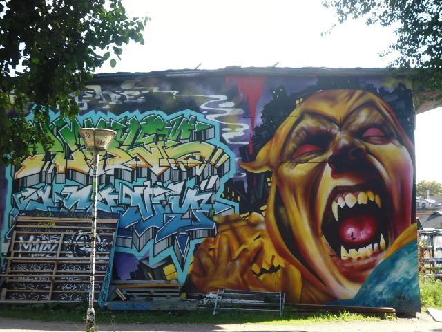 Graffitis en Christiania