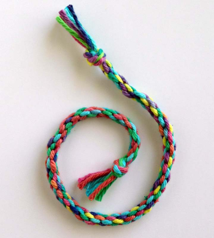 How To Make A Round Braid Art Projects For Kids