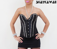 STUDDED BUSTIER