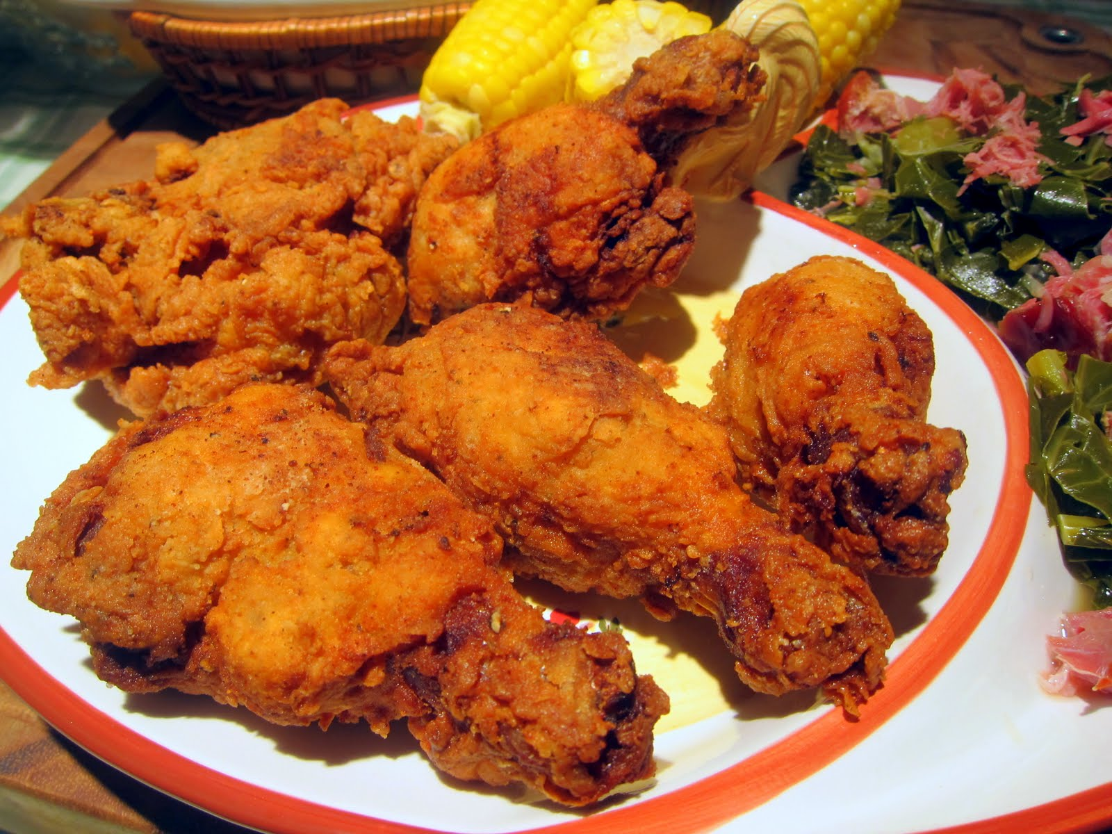 Dragon's Kitchen: Southern Fried Chicken