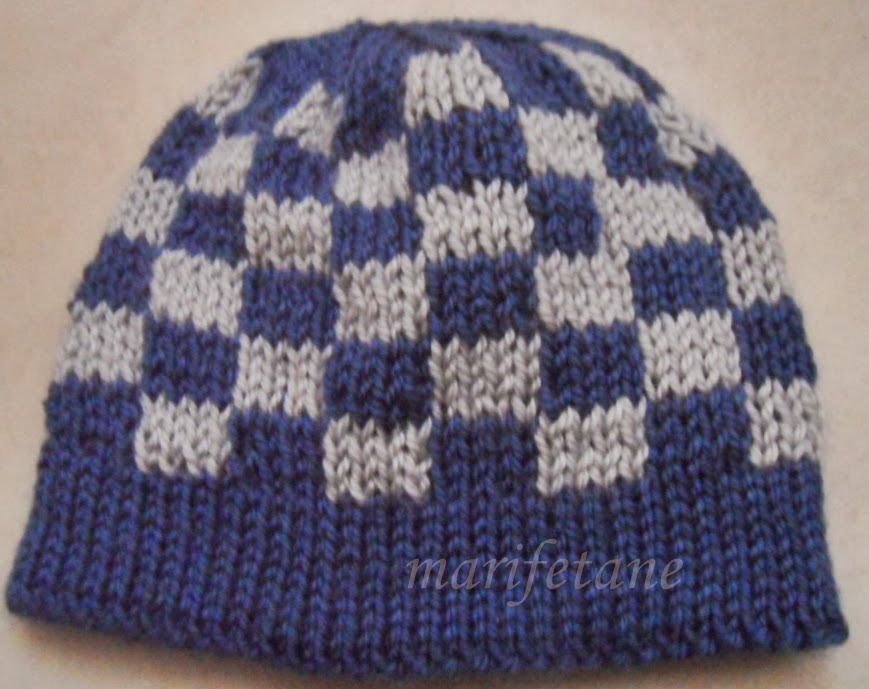 Double Knitting Hat