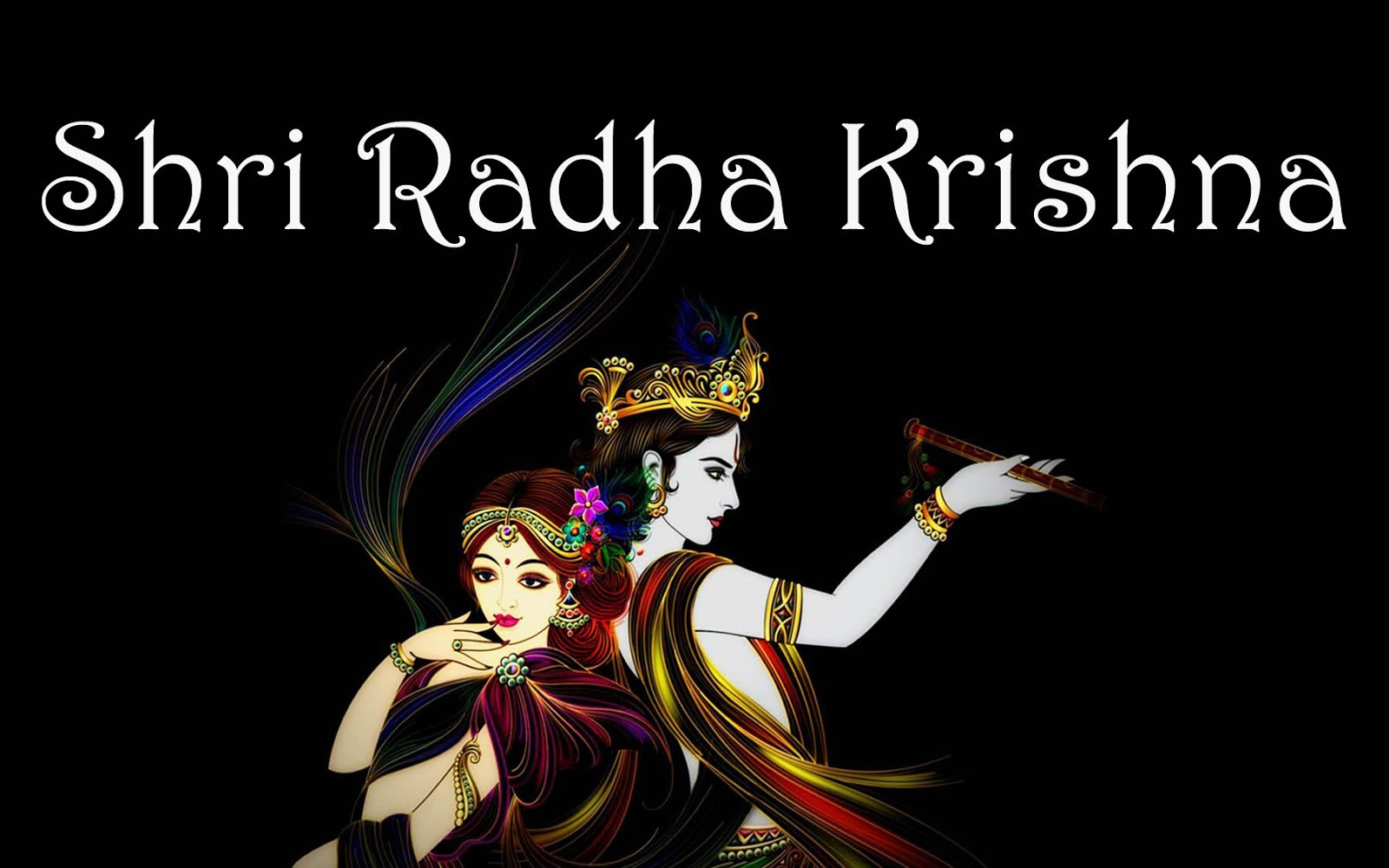 Hd wallpaper radha krishna - Radha Krishna 3d Effects Hd Wallpapers