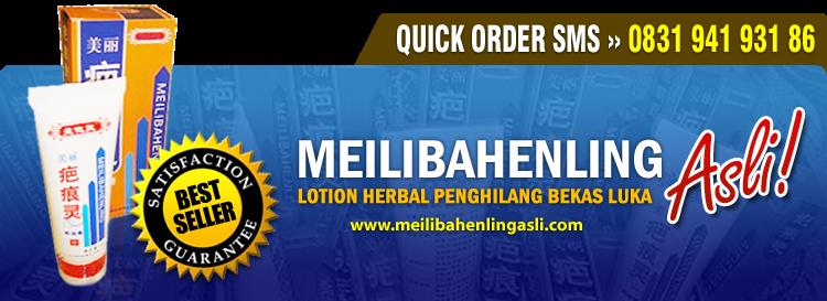 Lotion Herbal Penghilang Bekas Luka - MeilibahenlingAsli.com