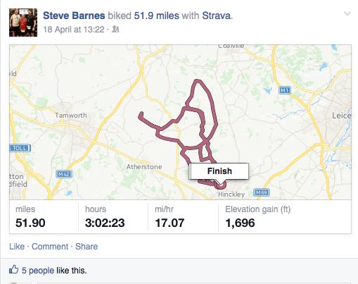 sträva route, sträva miles, sträva bike course, kudos sträva,
