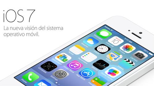 lanzamiento de i os7 apple