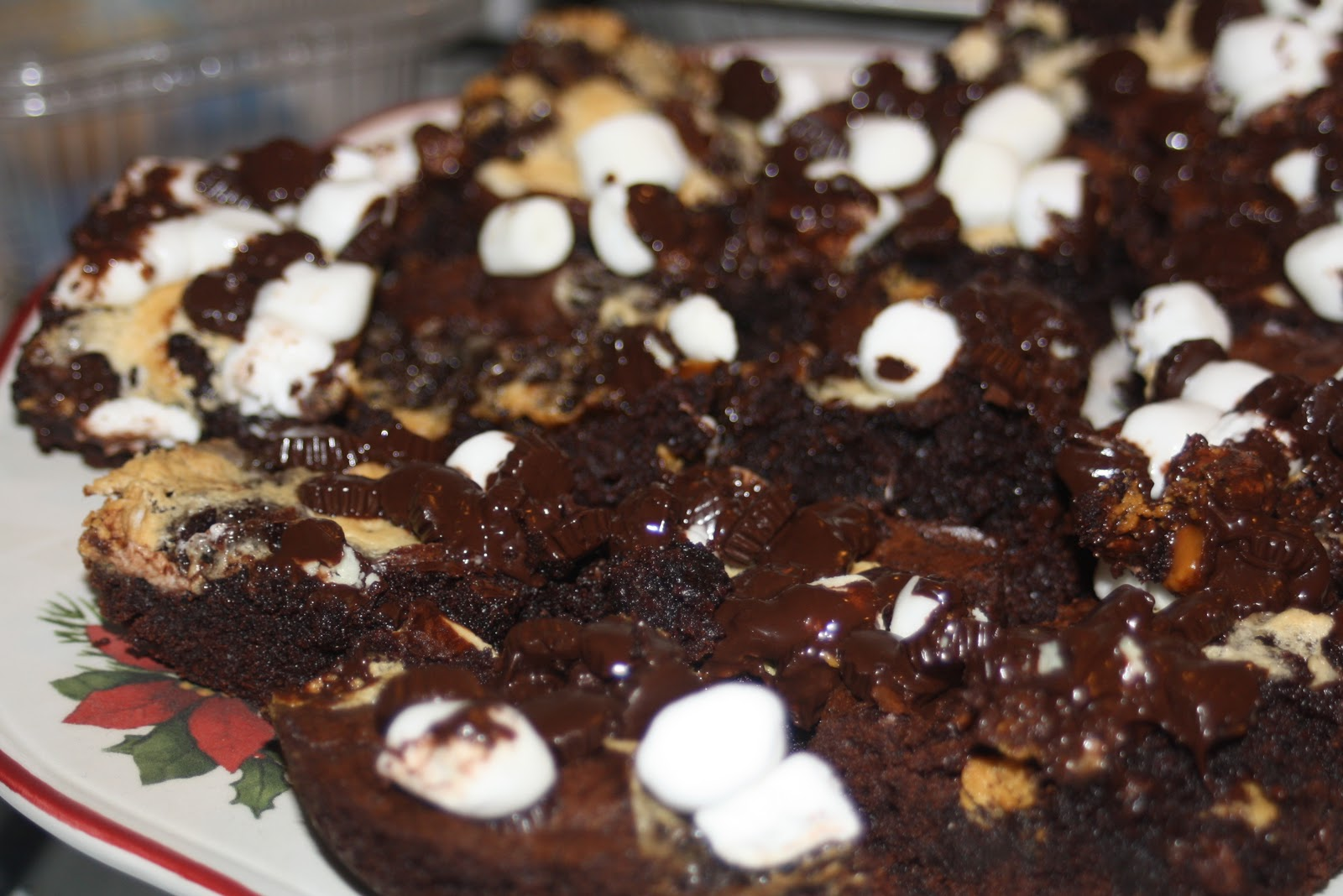 In the Cookie Kitchen: Rocky Road Brownies | Going Jane