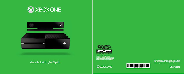 capa manual Xbox One - Blog Mineira sem Freio