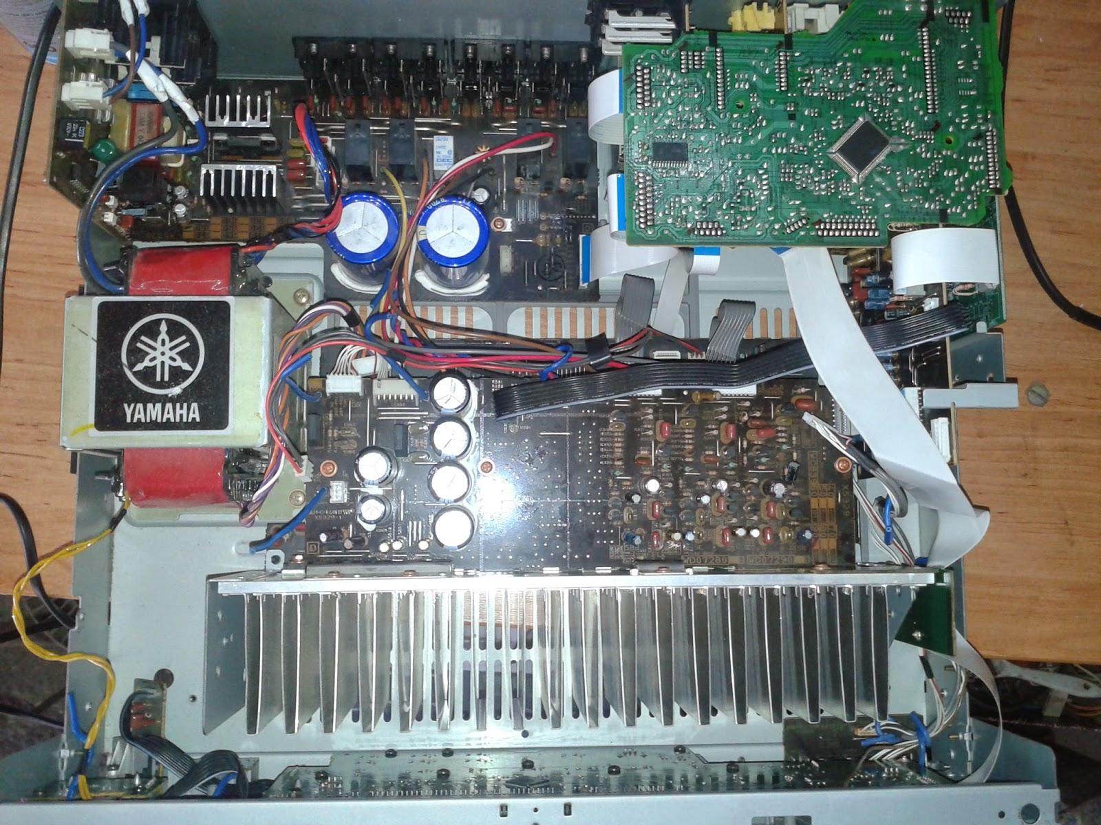 Bont s yamaha rx v450 elektro barlang for Yamaha rx v450 av receiver price