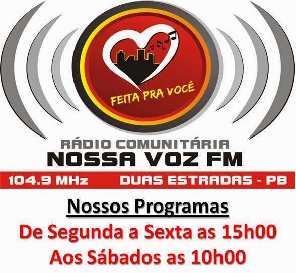 Programa de Rádio em Duas Estradas