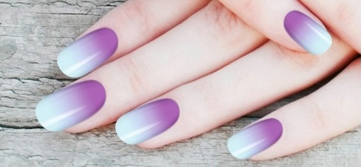 Here i am going to show different two toned nail art designs, that one can  carry for any occassion. - Nail Beautician: Two Toned Nail Art