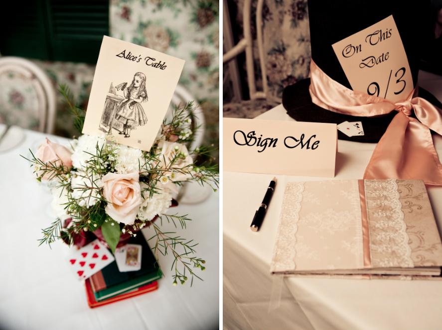 Green Geek Weddings Alice Goes Green