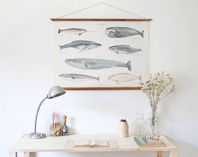 Large A1 Whales Canvas poster by ARMINHO