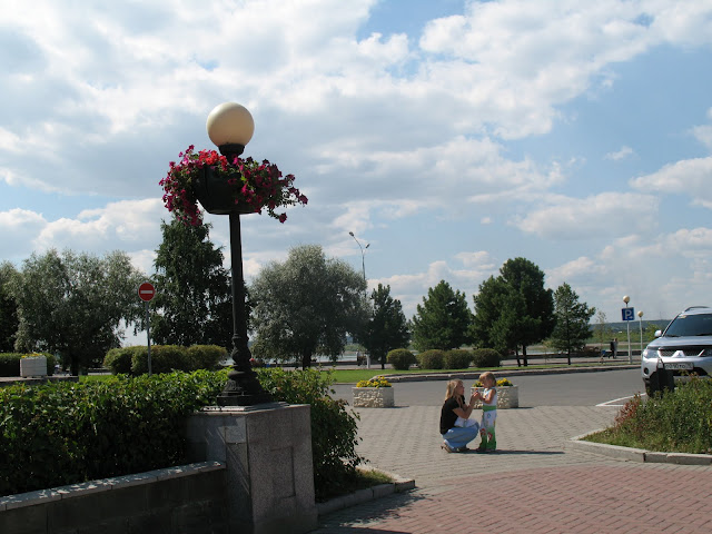 Набережная города Томска