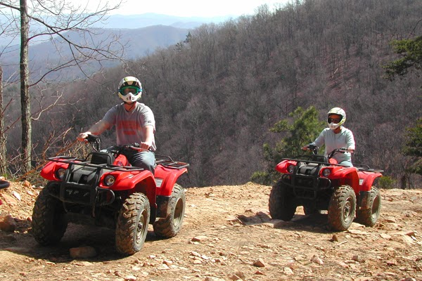 Climb to the top of the Smoky Mountain foothills