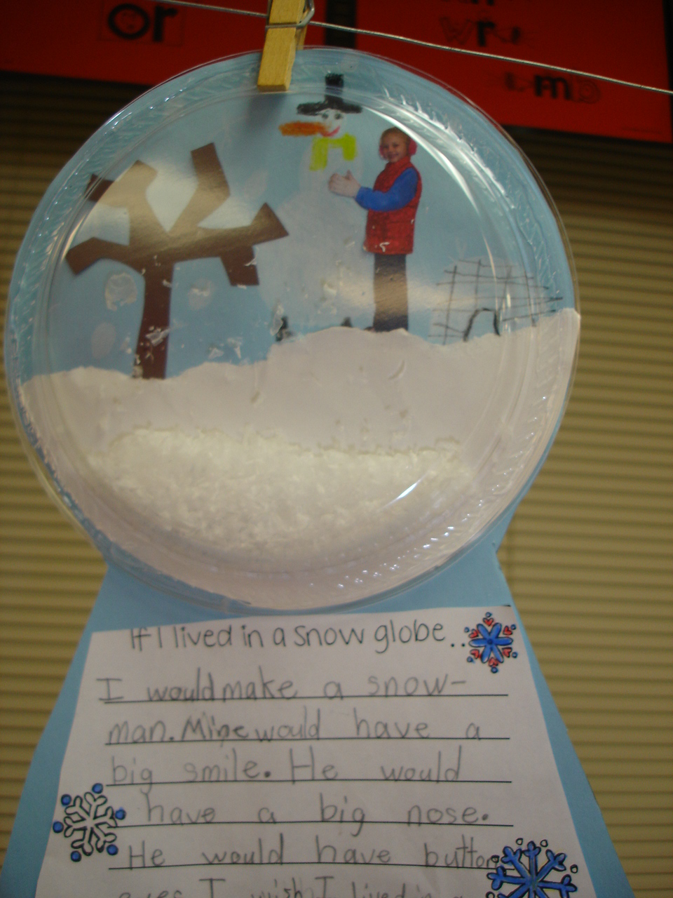 DIY Homemade Snow Globe