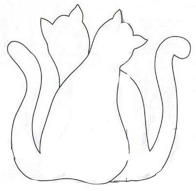 Gatos Patchcolagem