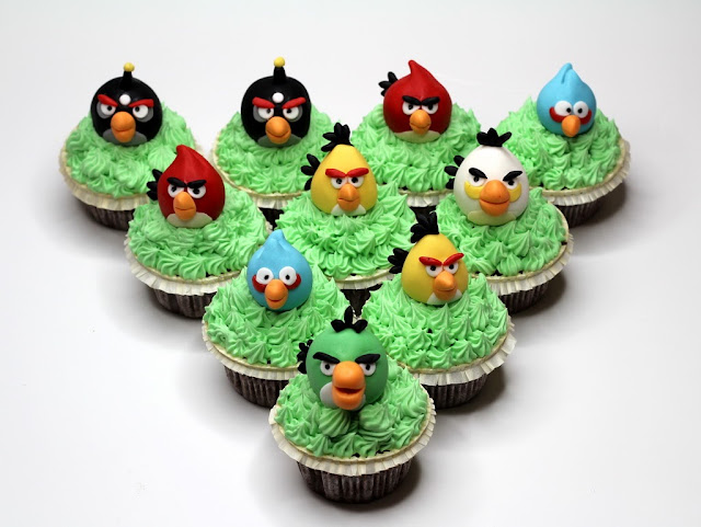 London Cupcakes - Angry Birds
