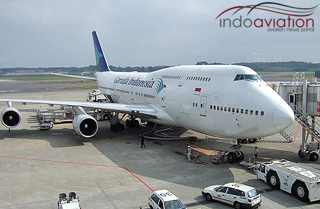 Garuda Indonesia 747-400
