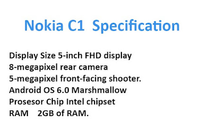 Nokia c1 Specification