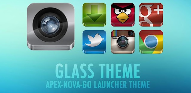GLASS APEX/NOVA/GO THEME v3.9 APK