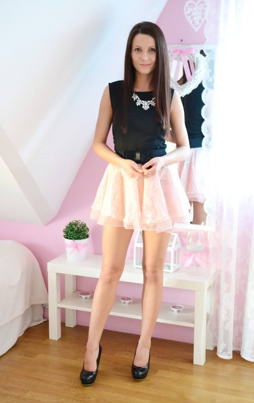 Lace skirt :)