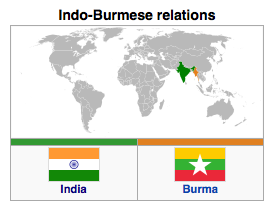 India-Burma-Myanmar-Bilateral-Relationship