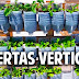 3 huertas verticales geniales con materiales reciclados
