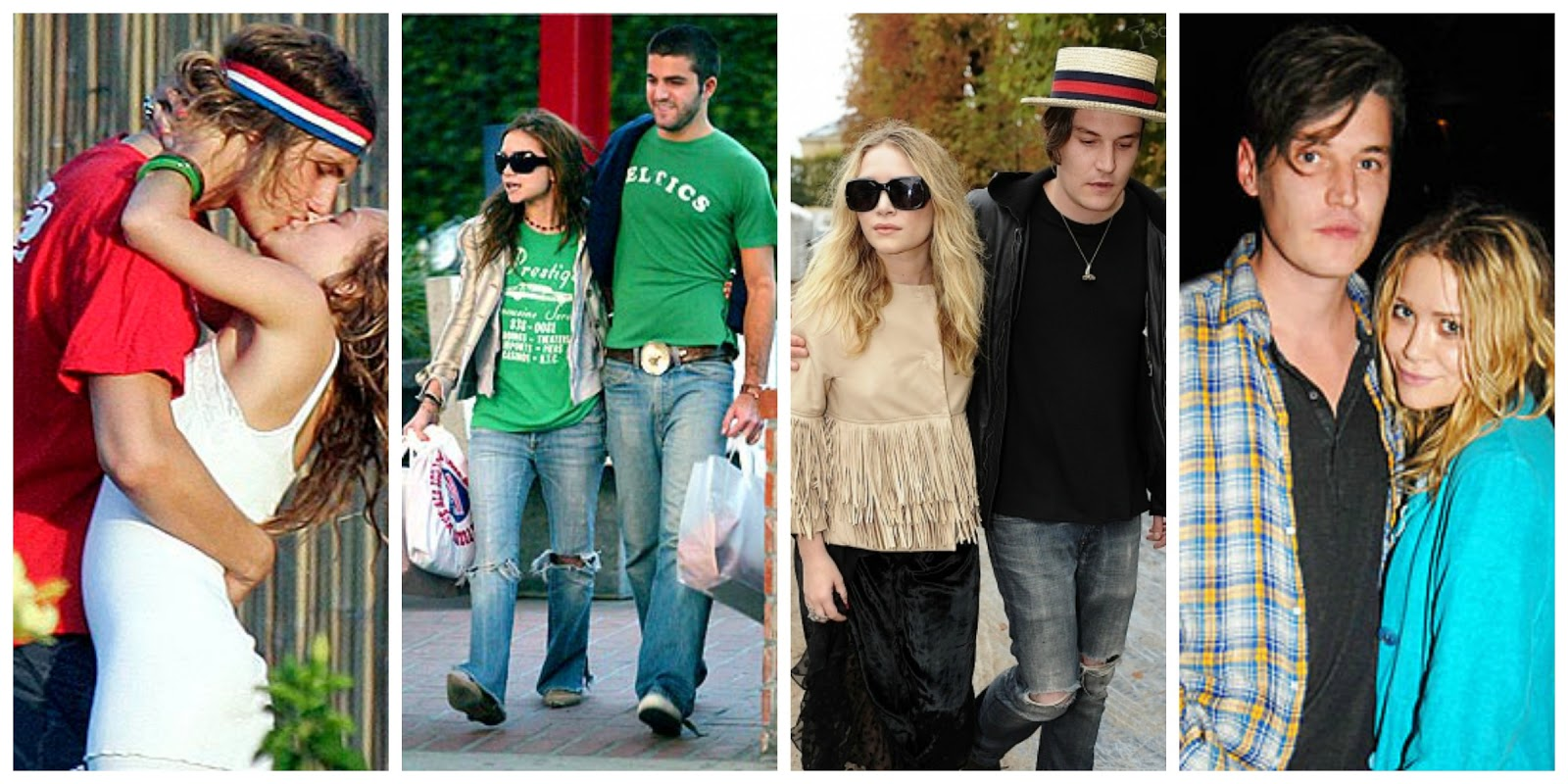 mary kate and ashley olsen dating who Last week, photos of the olsen twins on a double date with two men who appear to already be receiving social security checks emerged mary-kate olsen, 30, and her husband olivier sarkozy, 47, went to a knicks game with ashley olsen, 30, and some other, unidentified older man.