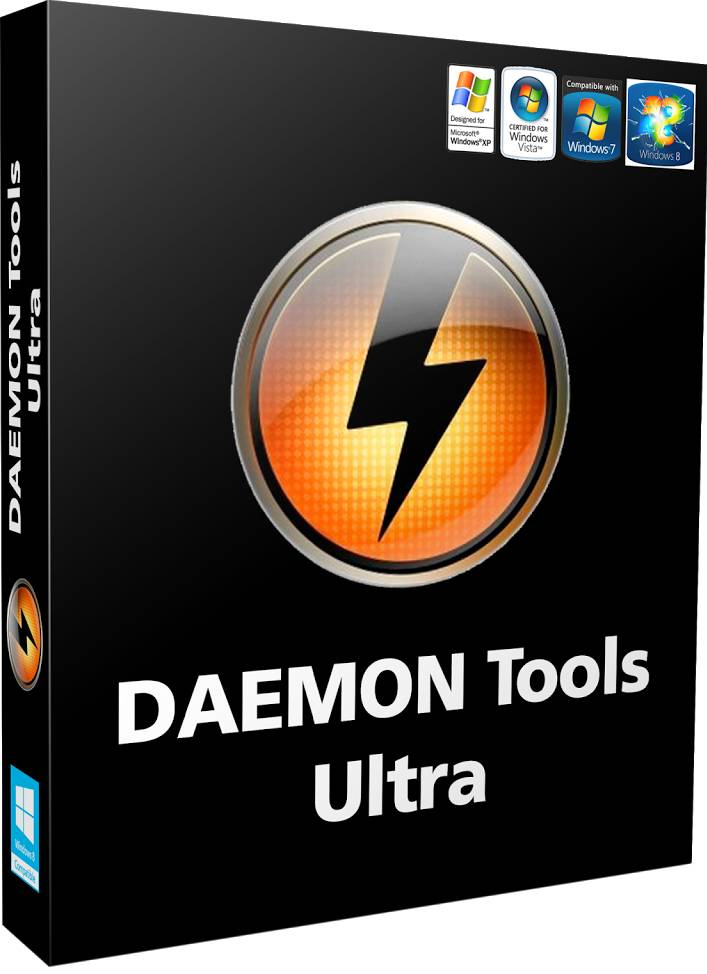 DAEMON Tools Ultra v4.0.1.0425 ESPAÑOL PC Full Cover Caratula