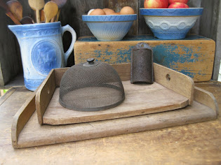 Early Pastry Boards and a Shoofly Screen