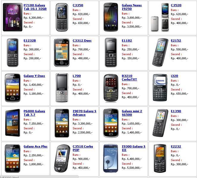 Daftar Harga Handphone Android Terbaru 2015 Terbaru 2015