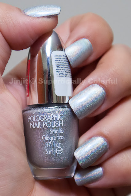 Pupa - Holographic Silver (030)