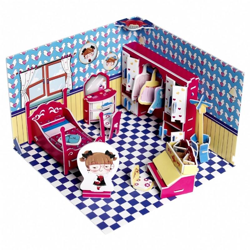 Dreumes enzo poppenhuis knutselen origineel kindercadeau for Poppenhuis meisje