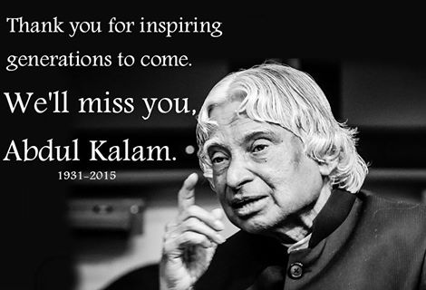 an address to dr apj abdul kalam and his vision of india
