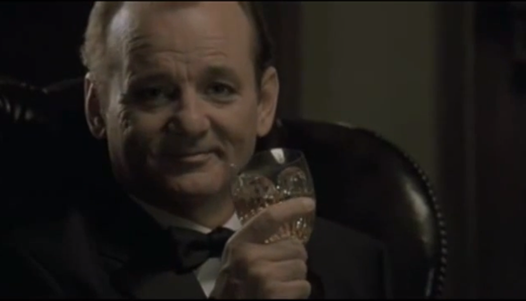 Bill Murray Suntory Whisky Lost in Translation