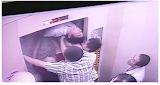 Homem quase é cortado ao meio ao tentar sair de elevador enguiçado