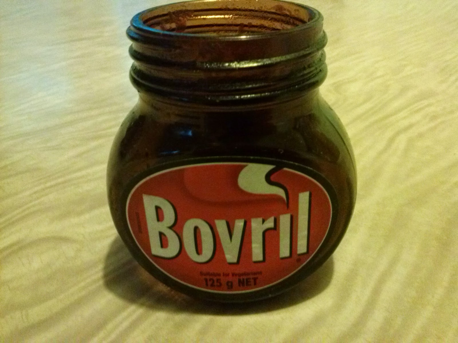 Good old beef tea; bovril